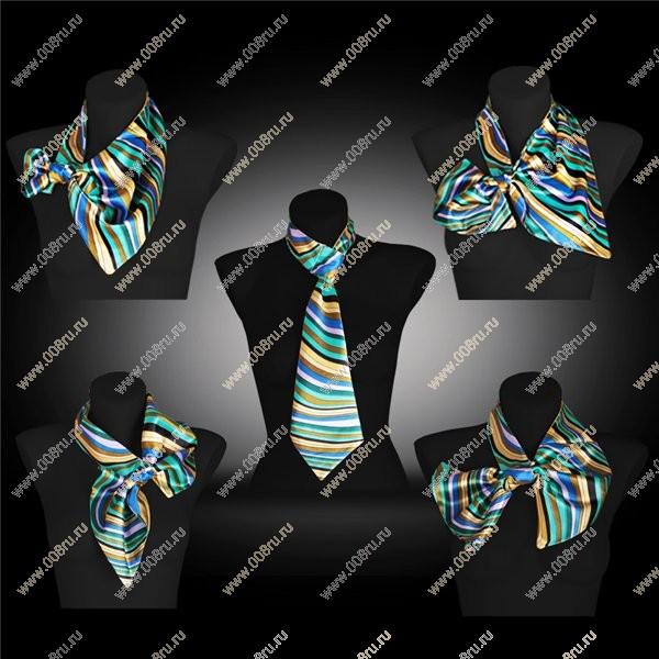 Французский галстук как завязать