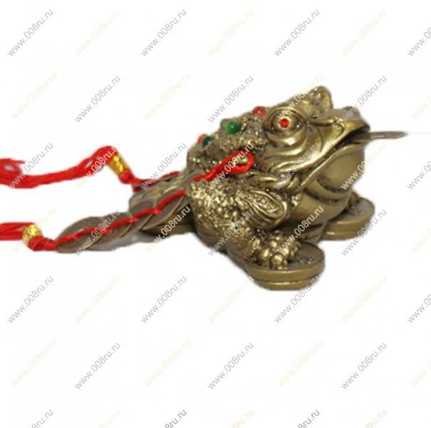 Статуэтка жаба на монетах с чашей камень h=6*6см м268 288112 купить в самарском магазине gippiru